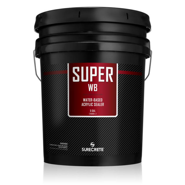 Outdoor Clear Water Based Concrete Sealer 5 Gallon