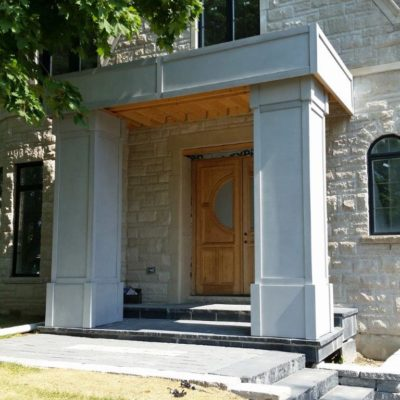 Outdoor Concrete Column Panels